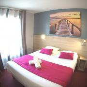 Lit double chambre design