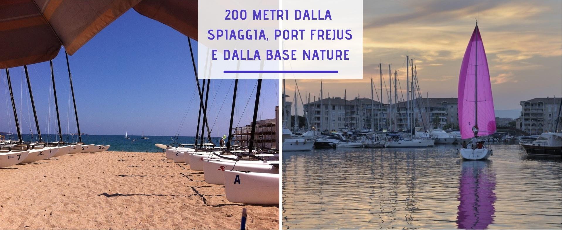 A 200 m plage italien