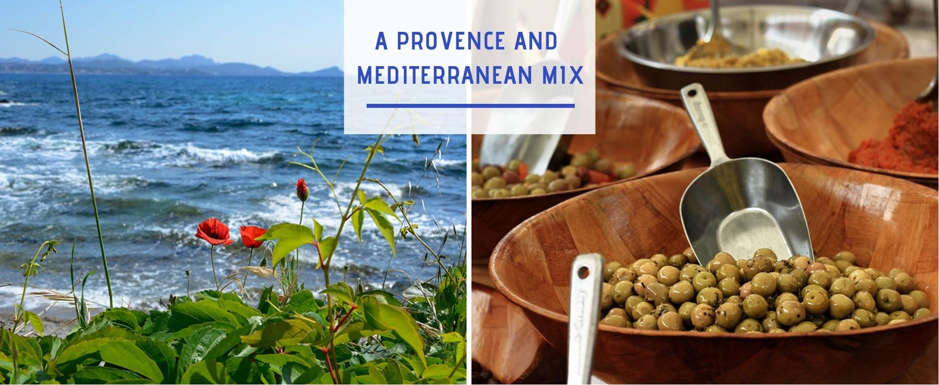 Provence mediterranee anglais
