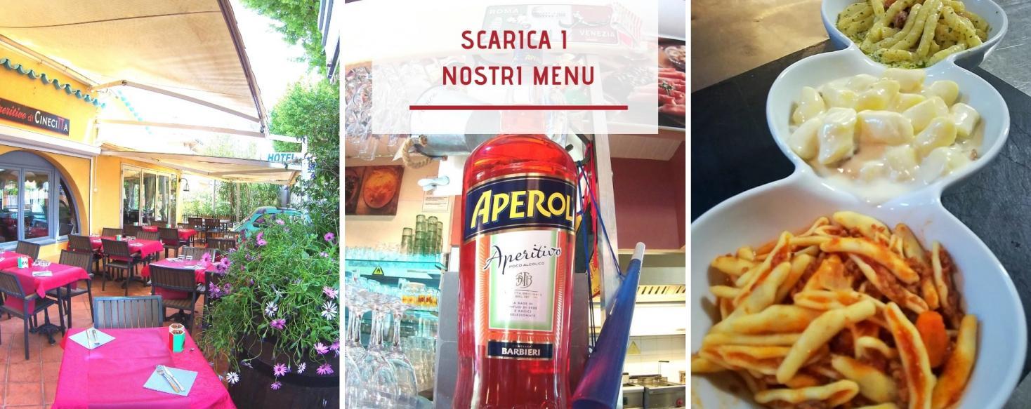 Resto carte et menus italien